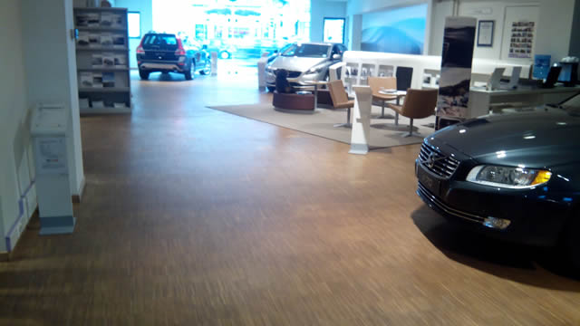 Mister floor affligem realisaties for Garage volvo rouen